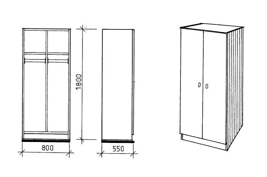 objektmoebel schr nke. Black Bedroom Furniture Sets. Home Design Ideas